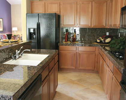 Granite Kitchen Worktops and Vanity Units - Granite Furniture ...
